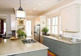 kraftmaid cabinet reviews Kitchen Traditional with blue gray blue