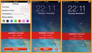 How to Create a Custom Lock Screen Message in OS X and iOS – The