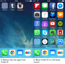 How To Hide Apps Folders iOS 7 [No Jailbreak] Hongkiat