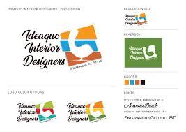 100 Interior Designers Logos Ideaquo Logo Design Rahul Kamath Logo