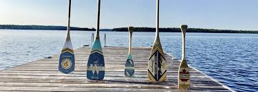 Decorative Oars And Paddles by Home Canoe Paddle Wall Decor By Head Above Water Paddles