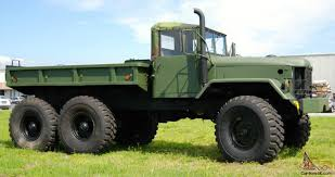 100 5 Ton Army Truck MILITARY TON NOT DEUCE 2 Sweet Rides S Military