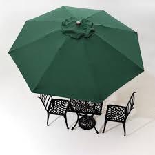 10 Umbrella Replacement Cover Top 8 Rib Deck Outdoor Canopy Garden Beach Patio Pool Color Optional