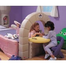 Step2 Furniture Toys by Step 2 Dream Castle Convertible Bed 172379 Kid U0027s Furniture At