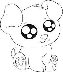 Image Of Puppy Printable Coloring Pages