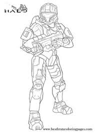 Halo Coloring Pages For Kids
