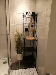 ikea badezimmer regal schwarz