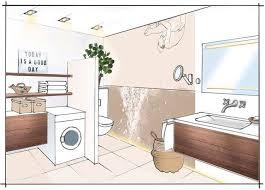 singlebad mit waschmaschine badplanung mit franziska
