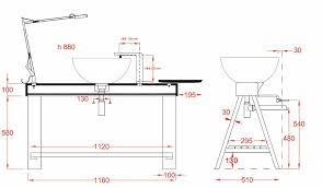 meuble de salle de bain vasque a poser 3 inoui hauteur meuble