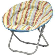Microsuede Folding Saucer Chair by Double Saucer Chair Wayfair