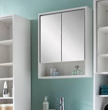 bad spiegelschrank schrank badezimmerspiegel badschrank weiß 57cm