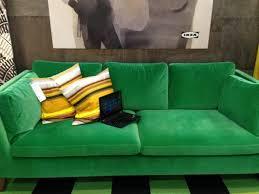 Outstanding Ikea Green Velvet Sofa 44 About Remodel Elegant Design With