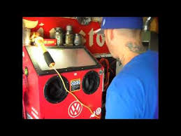 harbor freight blast cabinet review youtube