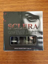 Halloween Prescription Contacts Lenses Uk by Black Sclera Contact Lenses 22mm Fulleye Good Quality Colored