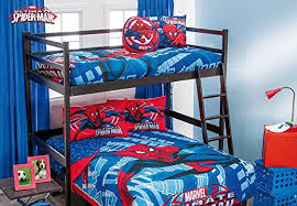 Spiderman Bunk Beds and Other Spiderman Room Decor Sevenhints