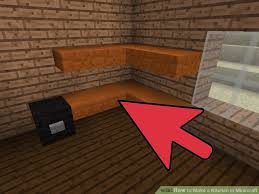 Minecraft Kitchen Ideas Pe by How To Make A Kitchen In Minecraft 12 Steps With Pictures