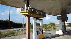 ABANDONED Shell Gas Station AND Truck Stop In Tucumcari New Mexico ...