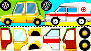Cars For Kids - Learning Vehicles Names And Sounds | Emergency Cars ...