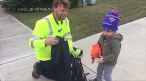 100 Trash Trucks In Action Truck Driver Surprises Little Boy With Gifts In Sweet Video