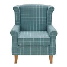 duck egg check edinburgh wingback chair dunelm