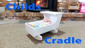 how to make a child u0027s doll cradle woodworkweb youtube