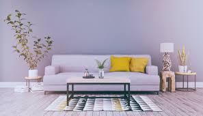 fototapete skandinavisches nordisches wohnzimmer mit einem