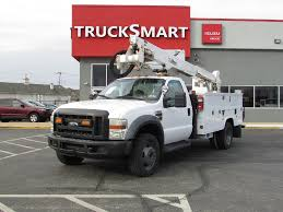 100 Boom Truck 2008 FORD F550 BUCKET BOOM TRUCK FOR SALE 11130