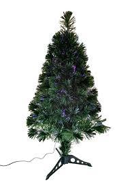 36 Fiberoptic Green Multicolor LED Tree