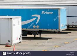 100 Semi Truck Trailers An Amazon Prime Logo Seen On Semi Truck Trailers Outside Of A Amazon