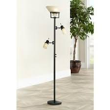 Restoration Bronze Torchiere Floor Lamp by Garver Bronze Torchiere Floor Lamp With Reader Arm Torchiere