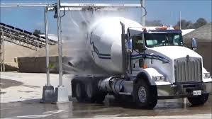 100 Ready Mix Truck Load GO Wash Concrete Construction Magazine