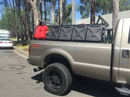 """Truck Bed Rack ¢€"""" Active Cargo System for Trucks With 8 Foot Bed"""