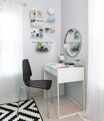 ikea micke desks as vanity minimalist desk design ideas