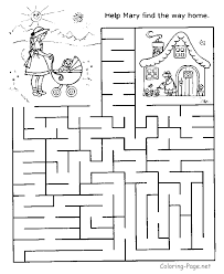 Get Your Free Printable Mazes At All Kids Network