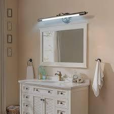 led spiegelle retro spiegelleuchte einstellbar antik