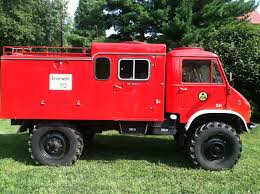 100 Unimog Truck 1964 Mercedes Benz 404 Fire Pumper With Accessories