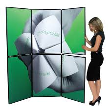 Humana Argus Pharmacy Help Desk by Horizon 6 Folding Panel Display