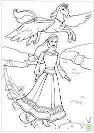 Pegasus Coloring Pages My Little Pony Galaxy