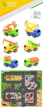 100 Different Trucks Six Plastic Mini Pullback Car Kids Toy Buy Car