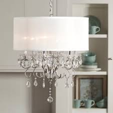 Home Design Ideas Terrific Delightful Chandeliers With Drum Shades 5 Sealrs Glamorous Dining Room