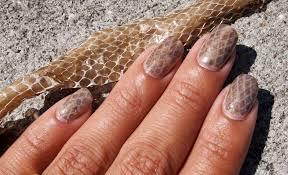 Snake Skin Shedding Lucky by Cult Nails Blog June 2011