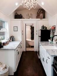 Rustic Chic White Kitchen Cabinets Image Design Best Luxury Decor Taste