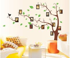 Novelty Households Tree Frames Wall Art Decoration Vinyl Stickers
