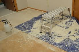 Tile Removal Crew by One Step Forward More Tips For Diy Popcorn Ceiling Removal