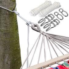 6m hängematten befestigung bis 160kg baum befestigungsset