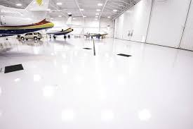 Bright White Epoxy And Urethane Floors
