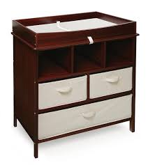 Baby Changer Dresser Top by Amazon Com Badger Basket Company Estate Baby Changing Table