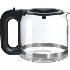 Braun 12 Cup Glass Flavor Carafe For Brew Sense Drip Coffee Makers