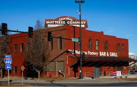 The Old Mattress Factory in downtown Omaha This bar and grill is