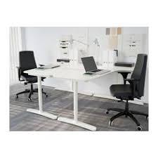 bureau d angle avec ag es bekant desk sit stand black brown white desks office spaces and